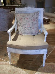 SHABBY CHIC® Parlor Cane Chair