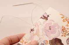 DIY Tutorial: Pattern Notebook Gifts or Wedding Favors by Antiquaria for Oh So Beautiful Paper