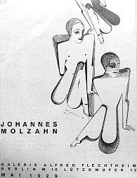 Johannes Molzahn - Katalog der Ausstellung in der Galerie Alfred Flechtheim, Berlin 1929
