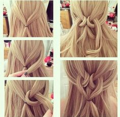 Imagen de hair, hairstyle, and heart