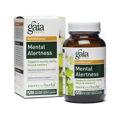Ginkgo Gotu Kola Mental Alertness Blend - Brain & Memory - Natural Remedies - Health - Thrive Market