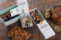 Chocoo - BooM creatives | branding & design. Handgemaakte lekkernij, gewikkeld in een gelaagd design. #deTruffel #Chocolade #chocoo #Natuurlijk #chocolate #delicious
