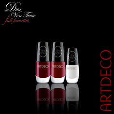 ArtDeco Dita Von Teese Fall Favorites Makeup Collection nails