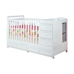 $299.00  (CLICK IMAGE TWICE FOR UPDATED PRICING AND INFO) Athena Daphne Convertible Crib and Changer  - See More Baby Cribs at http://www.zbuys.com/level.php?node=5910=baby-cribs