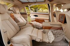 Luxury Car Interior