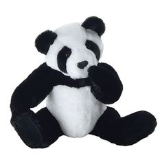 Panda Bear by Vermont Teddy Bear~ my dad got me this one and not only is a beautiful panda but so much of the proceeds went to help animals :) this is my 2nd vermont teddy bear