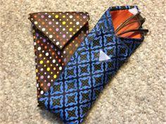 DIY Christmas Gifts: Men's Necktie Eyeglass Case (Day 10) | The Fashion Camp
