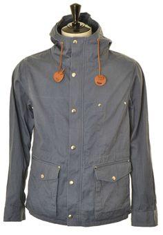 591807856731 Monitaly Hooded Parka - Navy Twill   Kafka Man Jacket
