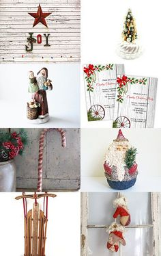 A Country Christmas by Trish Berkbuegler on Etsy--Pinned with TreasuryPin.com