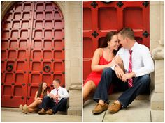 Nicole + Jason | Pittsburgh Engagement Photos - Pittsburgh Wedding Photography - Alison Mish Photography | University of Pittsburgh engagement session