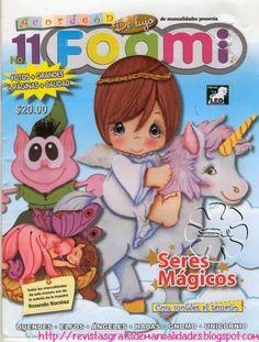 Revista gratis de foami, seres magicos
