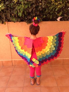 Disfraz ave, loro Diy Costumes, Halloween Costumes, Halloween Ideas, Baby Dress, Dress Up, Bird Costume, Recital, Bird Feeders, Tinkerbell