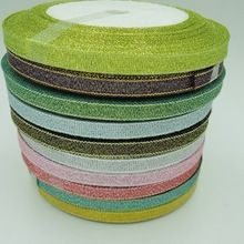 mix Color 10Y green onions ribbon for gift packing belt wedding party Christmas embellishment ribbon sewing accessories(China (Mainland))