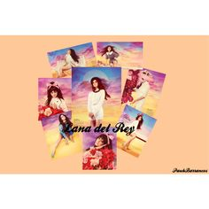 """Lana del Rey"" by paukbarrancos on Polyvore"
