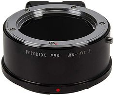 Fotodiox Pro Lens Mount Adapter Compatible with Minolta Rokkor (Sr/Md/Mc) SLR Lenses to Nikon Z-Mount Mirrorless Camera Bodies Nikon, Lenses, Camera