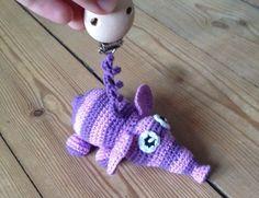 Louise's verden: Gratis opskrift på hæklet miniature elefant