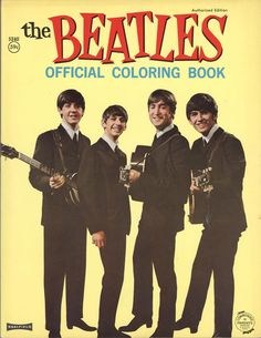 The Beatles colouring book.