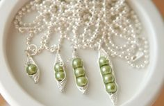 Hurry over to GroopDealz and get a Personalized Sweet Peas Necklace by Your Spoiled Baby for ONLY $12.00 (Retail: $26.00) A uniquely personal gift for Pearl Jewelry, Wire Jewelry, Jewelry Crafts, Jewlery, Pearl Necklace, Jewelry Knots, Jewelry Ideas, Diamond Jewelry, Mother Gifts