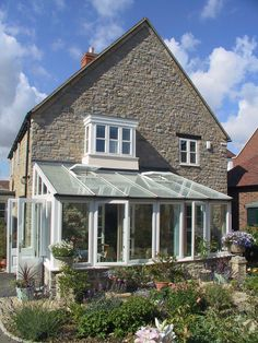 Selected photographs of various Lean To conservatory installations.