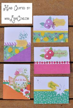 Taste of Summer cards Card Kit, Card Tags, Heart Projects, Handmade Card Making, Scrapbook Paper Crafts, Scrapbooking, Candy Cards, Paper Hearts, Heart Cards