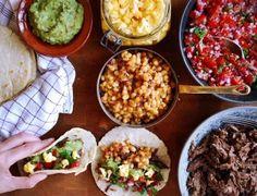 Hjemmelavet tacos med langtidsstegt dyrekølle // home made tacos with slow cooked venison