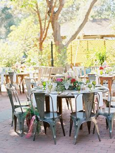 Photography: Ryan Ray - ryanrayphoto.com  Read More: http://www.stylemepretty.com/2015/04/06/whimsical-bright-summer-garden-wedding/