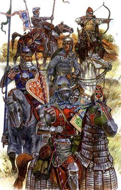 Eastern European warriors