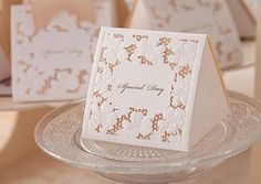 50 Pcs Wedding Candy Box White Lace Chocolate Box by WishmadeCards