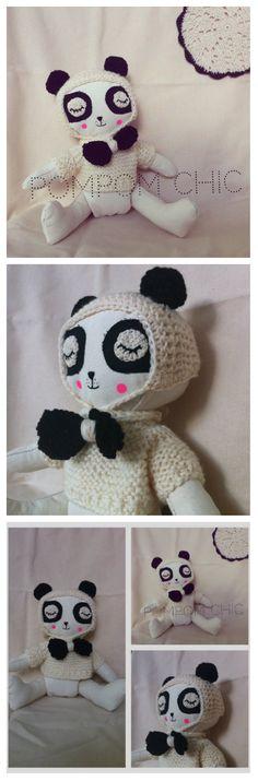 Pom ♥  Pom  Chic  : New friend for Clementina: Leo the panda.