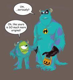 pixar halloween   Pixar Halloween by ~pixarjunkie on deviantART