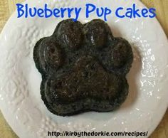 Blueberry pup cakes - posting this for the cute name alone