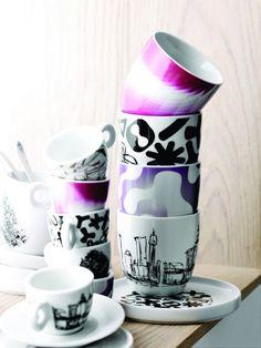 Cups by Karim Rashid for BoConcept. More information here: http://www.boconcept.de/die-neusten-designs.aspx?ID=96377