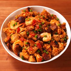 This paella is so easy it s almost impossible to mess up Get the full recipe at Slow Cooker Recipe Videos, Slow Cooker Recipes, Crockpot Recipes, Cooking Recipes, Seafood Recipes, Vegetarian Recipes, Chicken Recipes, Dinner Recipes, Healthy Recipes