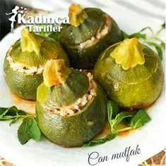 Top Kabak Dolması Tarifi – – Sarma ve dolma tarifi – Las recetas más prácticas y fáciles Homemade Beauty Products, Outdoor Cooking, Meat Recipes, Food To Make, Avocado, Food And Drink, Health Fitness, Ricotta, Canning