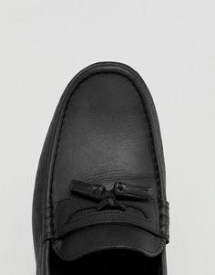 ASOS DESIGN | Черные кожаные мокасины с кисточками ASOS DESIGN Formal Loafers, Asos, Fashion, Footwear, Moda, Fashion Styles, Fashion Illustrations