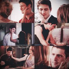 "Somebody's favorite show. on Instagram: ""Haley touching Nathan's face  #OneTreeHill #oth #Naley"""