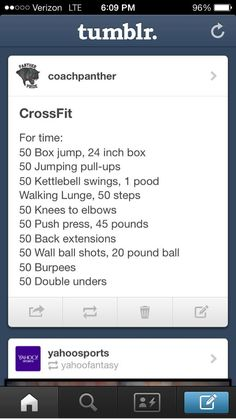 #CrossFit #workout #fitness