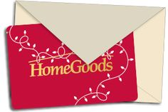 HomeGoods gift card