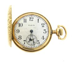 Elgin 14k Gold Pocket Watch Featured in our upcoming auction on November 2, 2015 11:00AM EST!