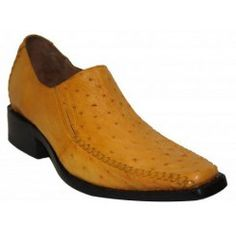 Zapatos de piel de avestruz