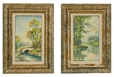 French Country  Landscapes, Pair on OneKingsLane.com