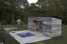 small pool - contemporary patio by d&#39