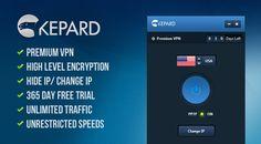 Giveaway #4 : 3 Free Premium VPN Accounts from Kepard