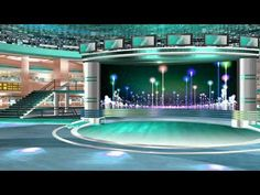 studio background screen virtual tv stage frame backgrounds greenscreen animation january motion