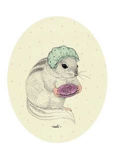 Cute Animals by Indi Maverick, via Behance