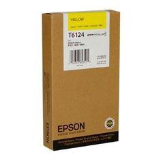 Cartuccia Inchiostro Inkjet Epson C13T612400 T6124 Giallo Originale - https://www.cancelleria-ufficio.eu/p/cartuccia-inchiostro-inkjet-epson-c13t612400-t6124-giallo/
