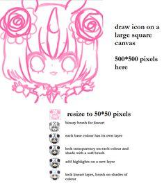Icon Tutorial (updated info) by onisuu.deviantart.com on @deviantART