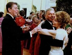 1981 - Dancing with Nancy Reagan!
