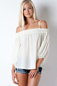 Gypsy Smocked Top from Gypsy Outfitters