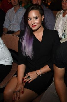Demi Lovato | UFC July 5, 2014